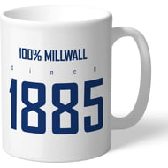 Personalised Millwall FC 100 Percent Mug