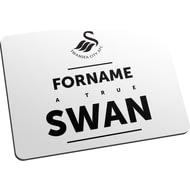 Personalised Swansea City AFC True Mouse Mat
