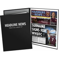 Personalised West Ham United FC News Folder