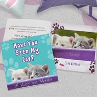 Personalised Have You Seen My Cat? Story Book