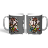 Personalised Ben 10 Group Hero Tme Mug