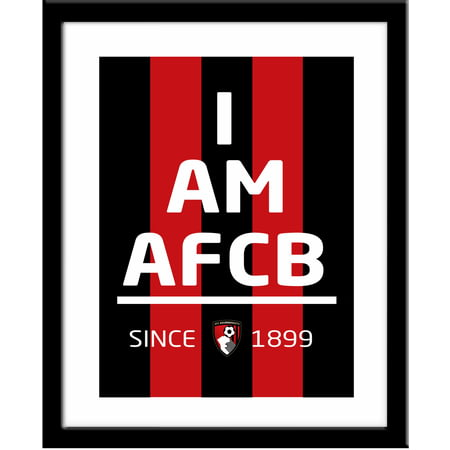 Personalised AFC Bournemouth I Am Framed Print