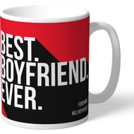 Personalised Nottingham Forest Best Boyfriend Ever Mug