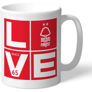 Personalised Nottingham Forest Love Mug