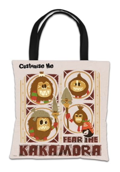 picture regarding Kakamora Printable known as Individualized Disney Moana Stress The Kakamora Tote Bag