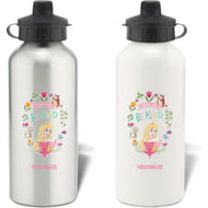Personalised Disney Princess True Aurora Aluminium Water Bottle