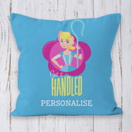 Personalised Toy Story 4 Got It Handled Cushion - 45x45cm