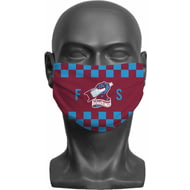Personalised Scunthorpe United FC Initials Adult Face Mask