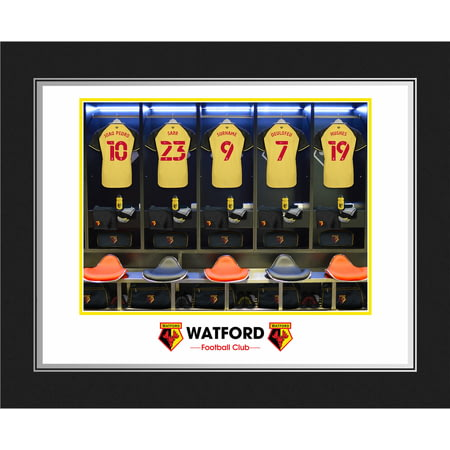 Personalised Watford FC Dressing Room Shirts Photo Folder