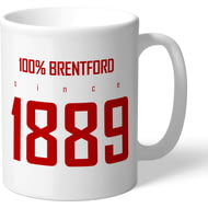 Personalised Brentford FC 100 Percent Mug