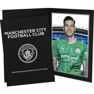 Personalised Manchester City FC Ederson Autograph Photo Folder