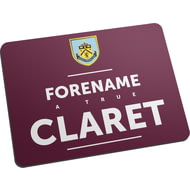 Personalised Burnley FC True Mouse Mat