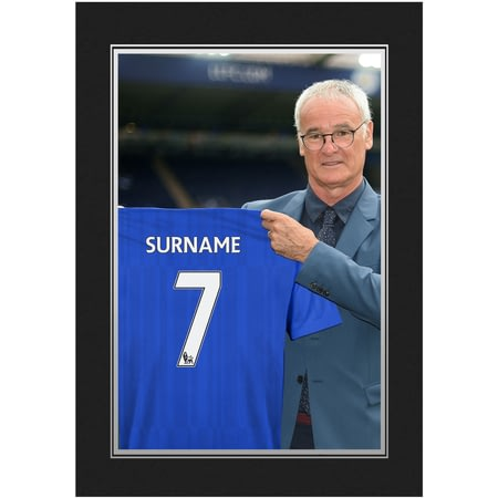 Personalised Leicester City FC 9x6 Manager Photo Folder