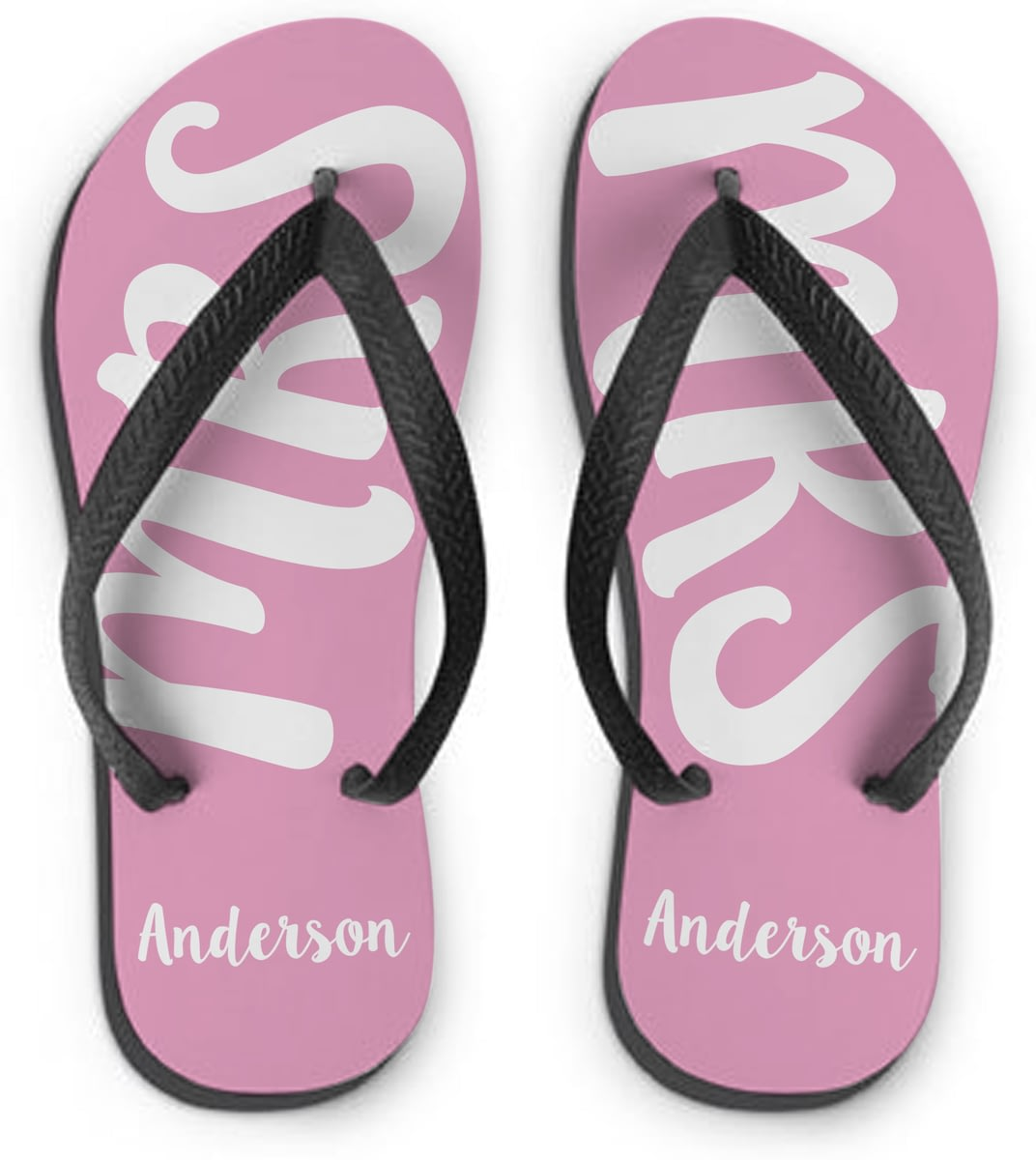 55c866f1cb54 Personalised MRS Small Flip Flops from Go Find A Gift