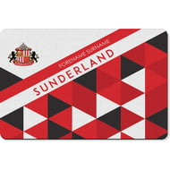Personalised Sunderland AFC Patterned Rubber Backed Large Floor Mat - 60x90cm