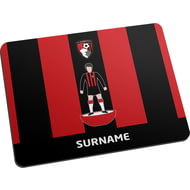 Personalised AFC Bournemouth Player Figure Mouse Mat