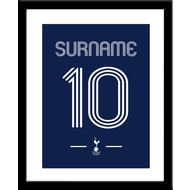 Personalised Tottenham Hotspur FC Retro Shirt Framed Print