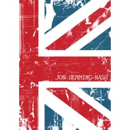 Personalised Union Jack Grunge Notebook