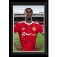 Personalised Manchester United FC Bailly Autograph Photo Framed