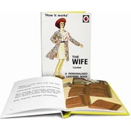 Personalised The Wife Classic Ladybird Book