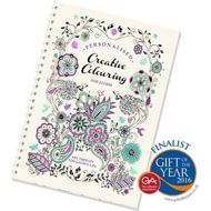 Personalised Creative Colouring Book For Adults - Travel Edition
