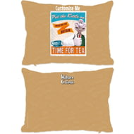 "Personalised Wallace And Gromit ""Put The Kettle On"" Rectangle Cushion - 45x30cm"