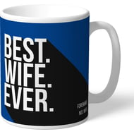 Personalised Chelsea FC Best Wife Ever Mug
