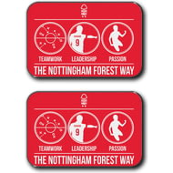 Personalised Nottingham Forest FC Way Rear Car Mats