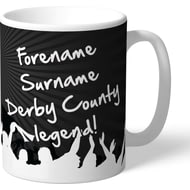 Personalised Derby County Legend Mug