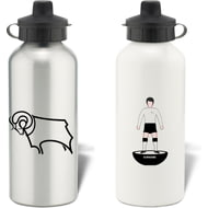 Personalised Derby County Player Figure Water Bottle
