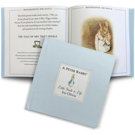 Personalised The Peter Rabbit Little Guide To Life Book