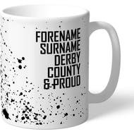 Personalised Derby County Proud Mug