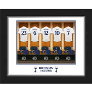 Personalised Tottenham Hotspur FC Dressing Room Shirts Photo Folder
