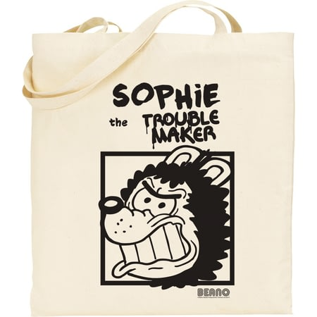 Personalised Beano Big Heads Gnasher Tote Bag