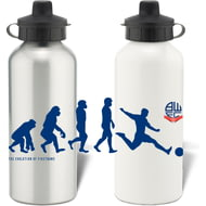 Personalised Bolton Wanderers Player Evolution Aluminium Sports Water Bottle