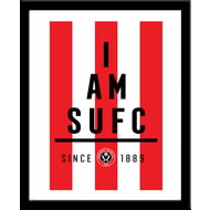 Personalised Sheffield United FC I Am Framed Print