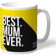 Personalised Watford Best Mum Ever Mug