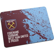 Personalised West Ham United FC Proud Mouse Mat