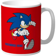 Personalised Sonic The Hedgehog Running Mug