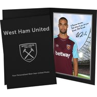Personalised West Ham United FC Reid Autograph Photo Folder