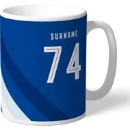 Personalised Chelsea FC Stripe Mug