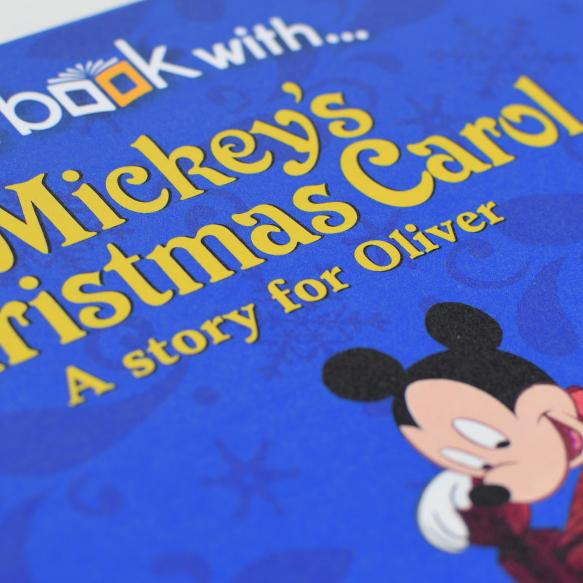 Mickeys Christmas Carol Book.Personalised Disney S Mickey S Christmas Carol Story Book