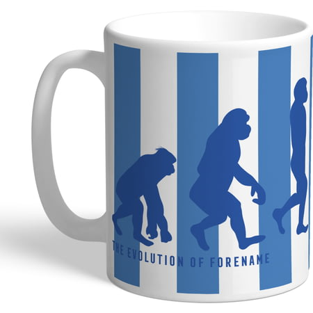 Personalised Sheffield Wednesday Evolution Mug