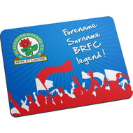 Personalised Blackburn Rovers FC Legend Mouse Mat