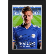 Personalised Leicester City FC Vardy Autograph Photo Folder