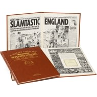 Personalised Six Nations Rugby Newspaper Book