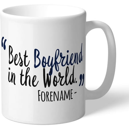 Personalised Tottenham Hotspur FC Best Boyfriend In The World Mug