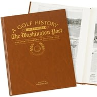 Personalised Golfing History Washington Post Newspaper Book