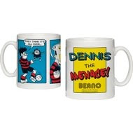 Personalised Beano Classic Comic Strip Top Dog Ceramic Mug