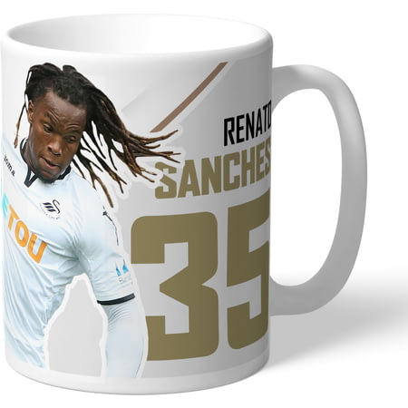 Personalised Swansea City AFC Sanches Autograph Mug